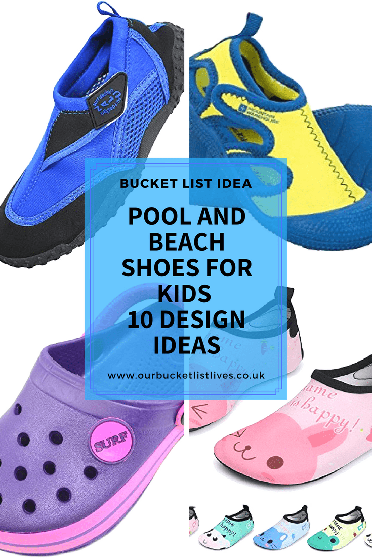 Pool and Beach Shoes for Kids | 10 Design Ideas