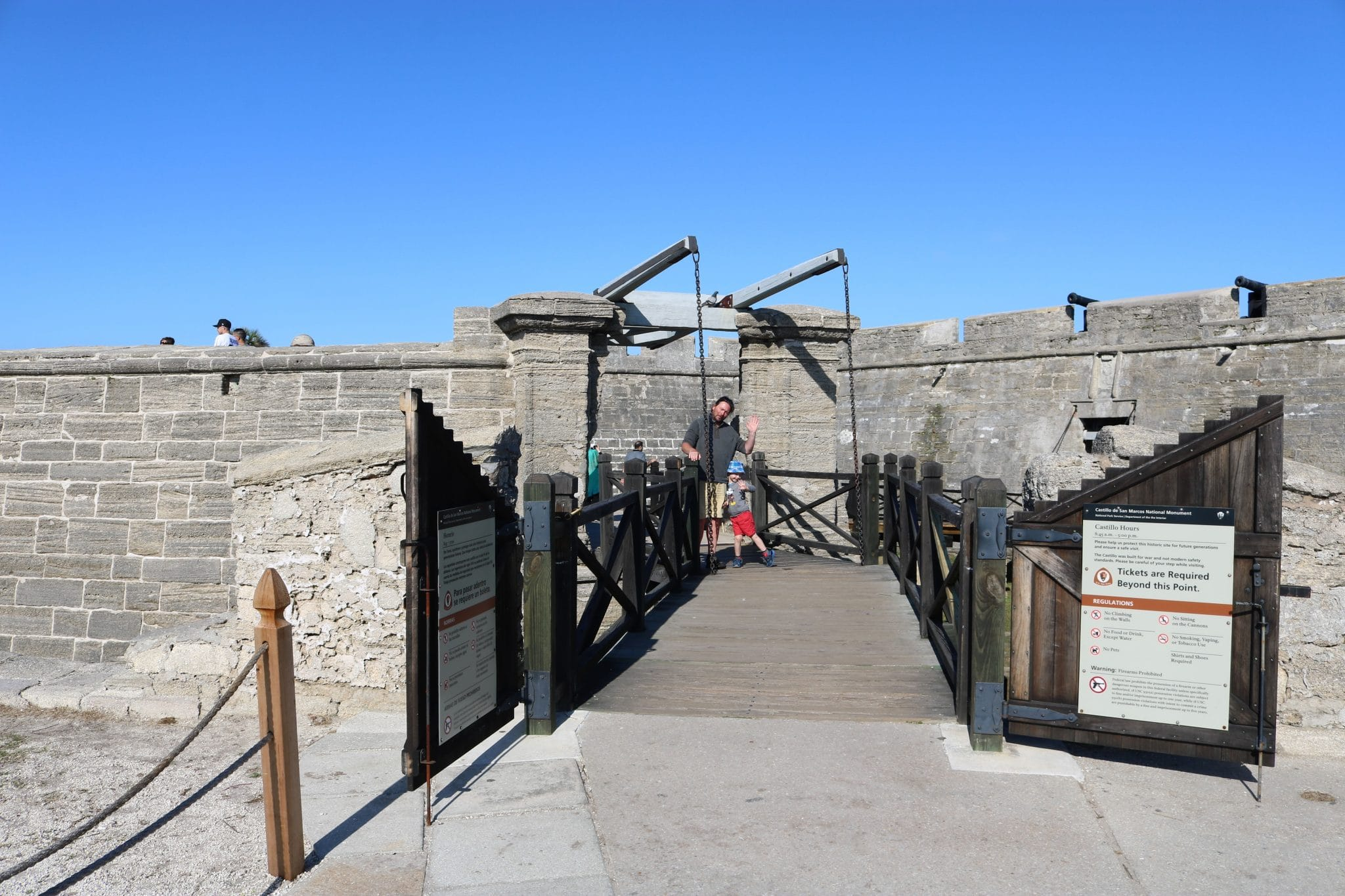 Our Visit to Castillo De San Marcos St Augustine Florida
