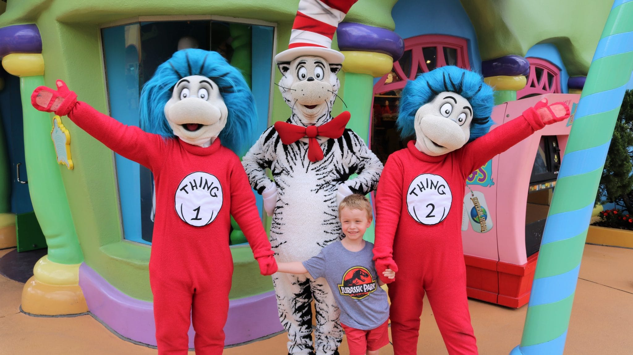 Dr Seuss characters meet and greets