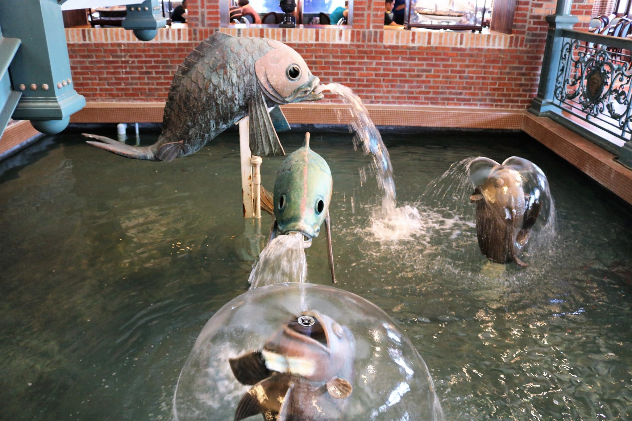 The fish at Lombard's Seafood Grille