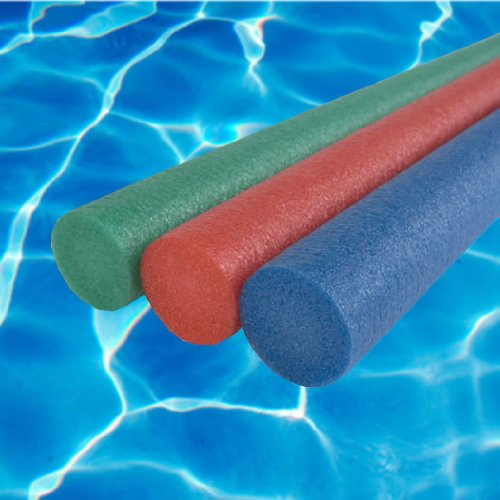 Elite Water Swimming Aid Float Noodles x3 (Red, Green and Blue)
