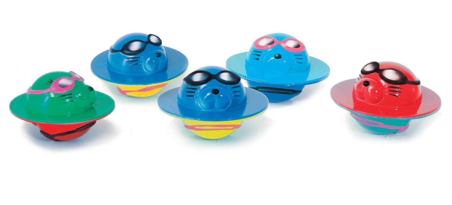Zoggs Children's Safe Water Toys 5 Seal Flips for Aged up, Fun Pool Game