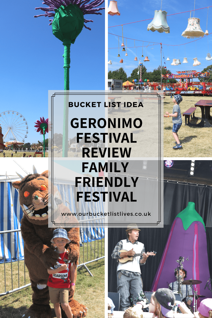 Geronimo Festival Review | Knebworth House | Family Festival