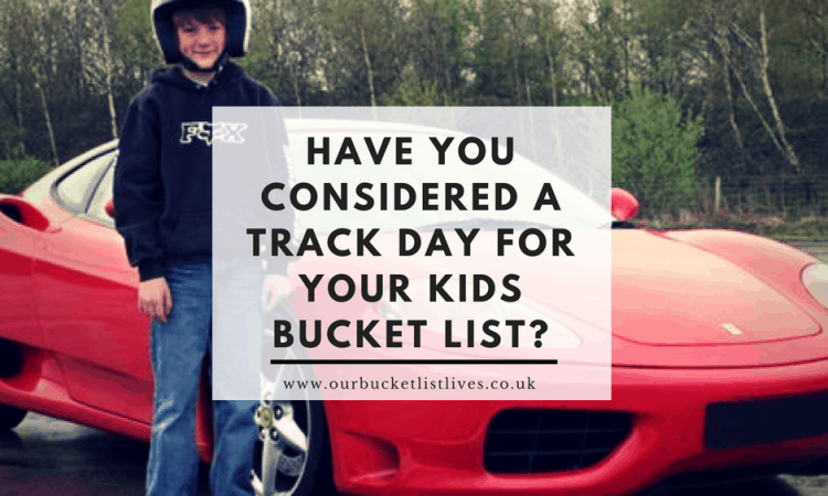 Have you Considered a Track Day for Your Bucket List?