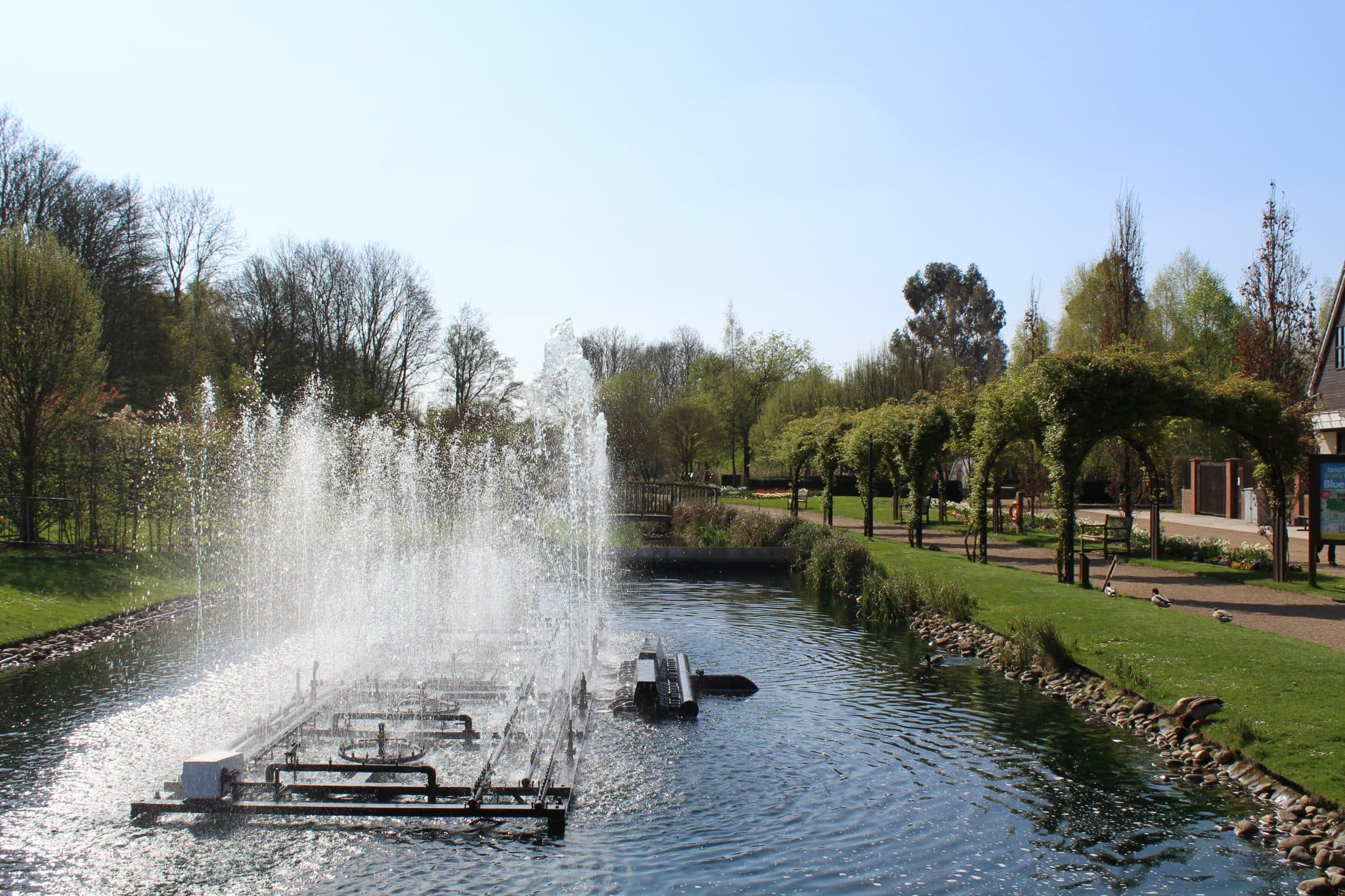 The Festival Gardens at Springfields, Spalding