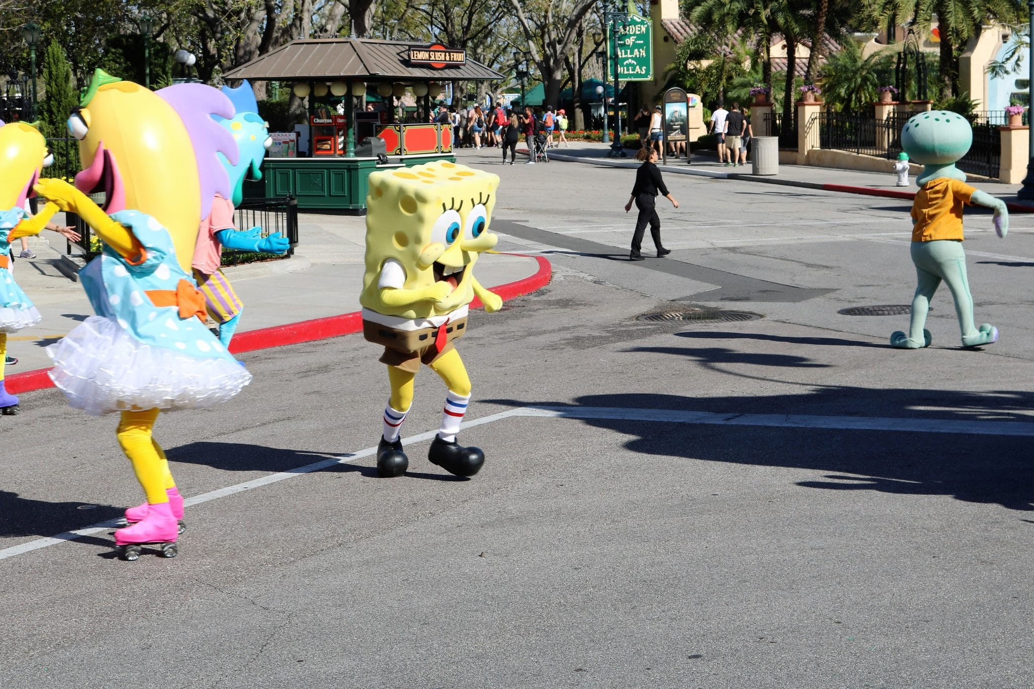 Character Party Zone - Spongebob Squarepants
