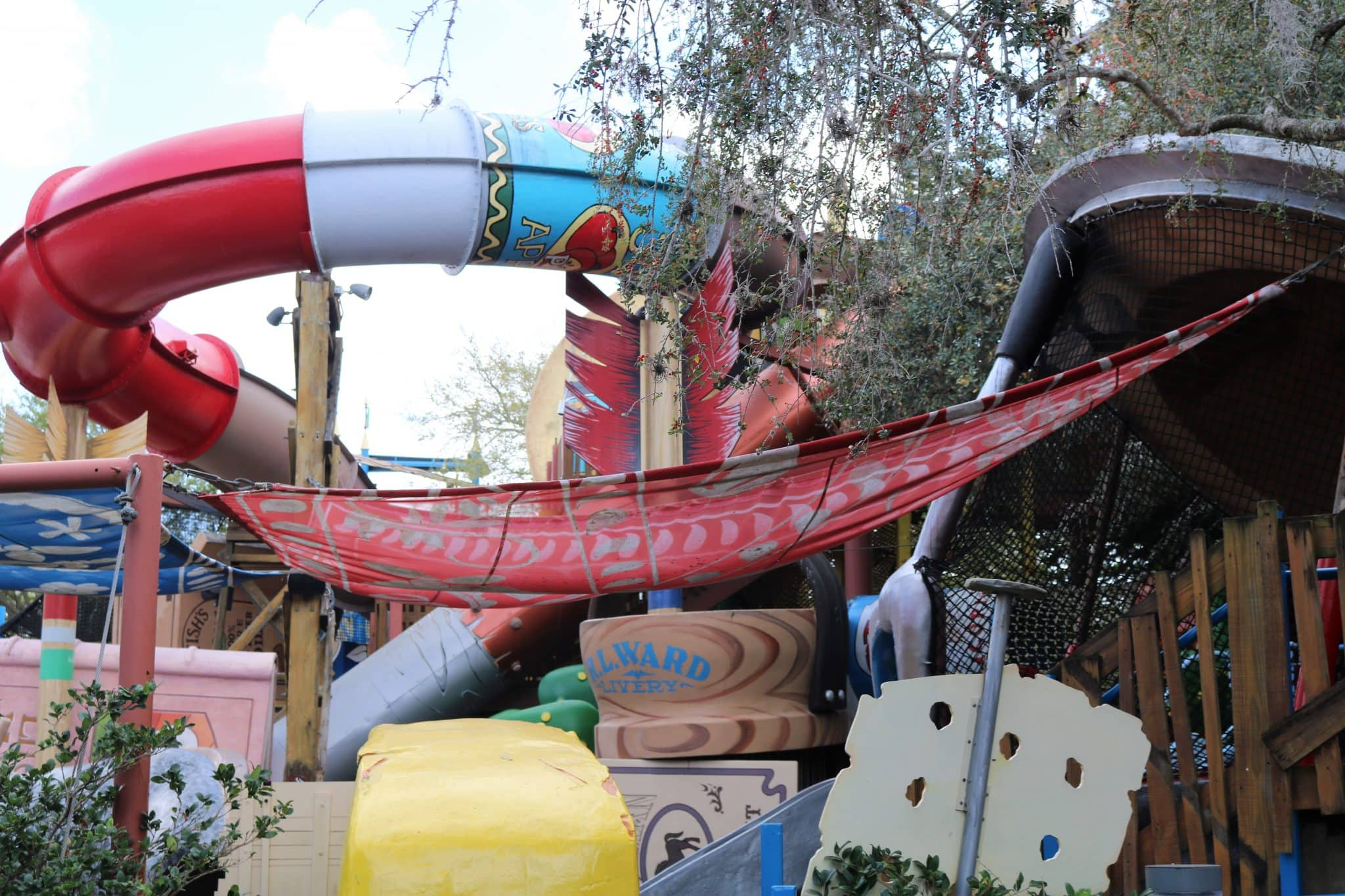 Fievel's Playland Waterslide