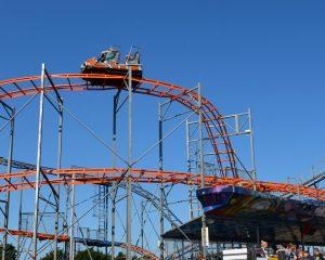 Cosmic Typhoon Rollercoaster