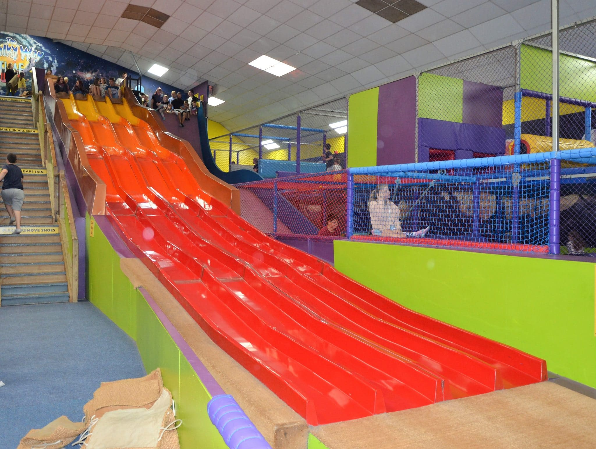 Time warp indoor play area