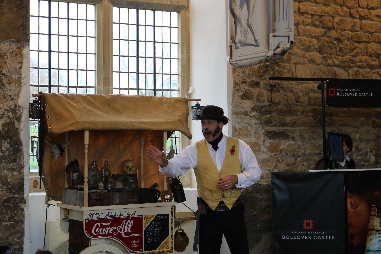 Bolsover Castle, Tricks and Tonics