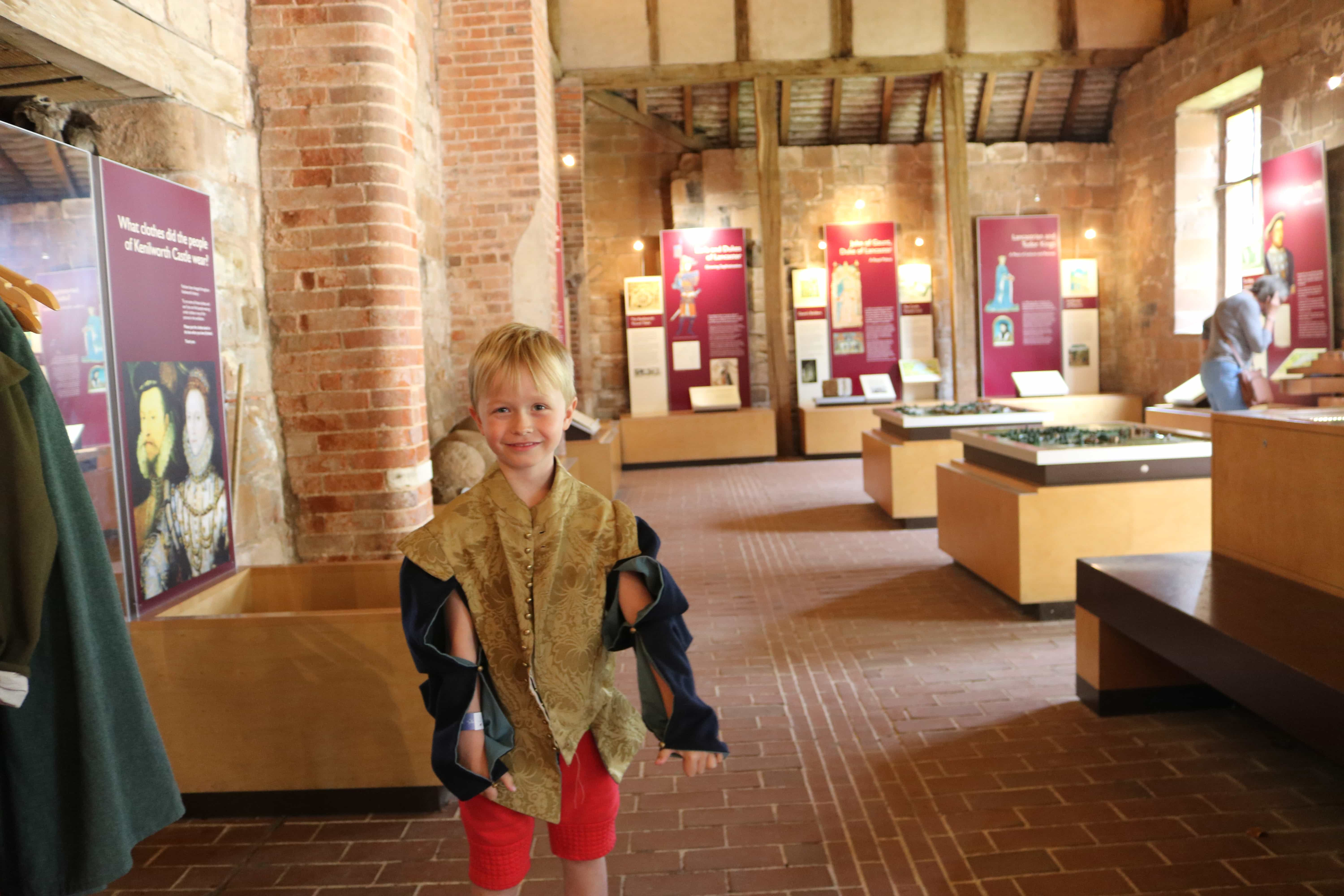 Dress up in the Tudor Stable