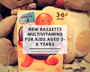 Trying the New Bassetts Multivitamins For Kids Aged 3-6 Years