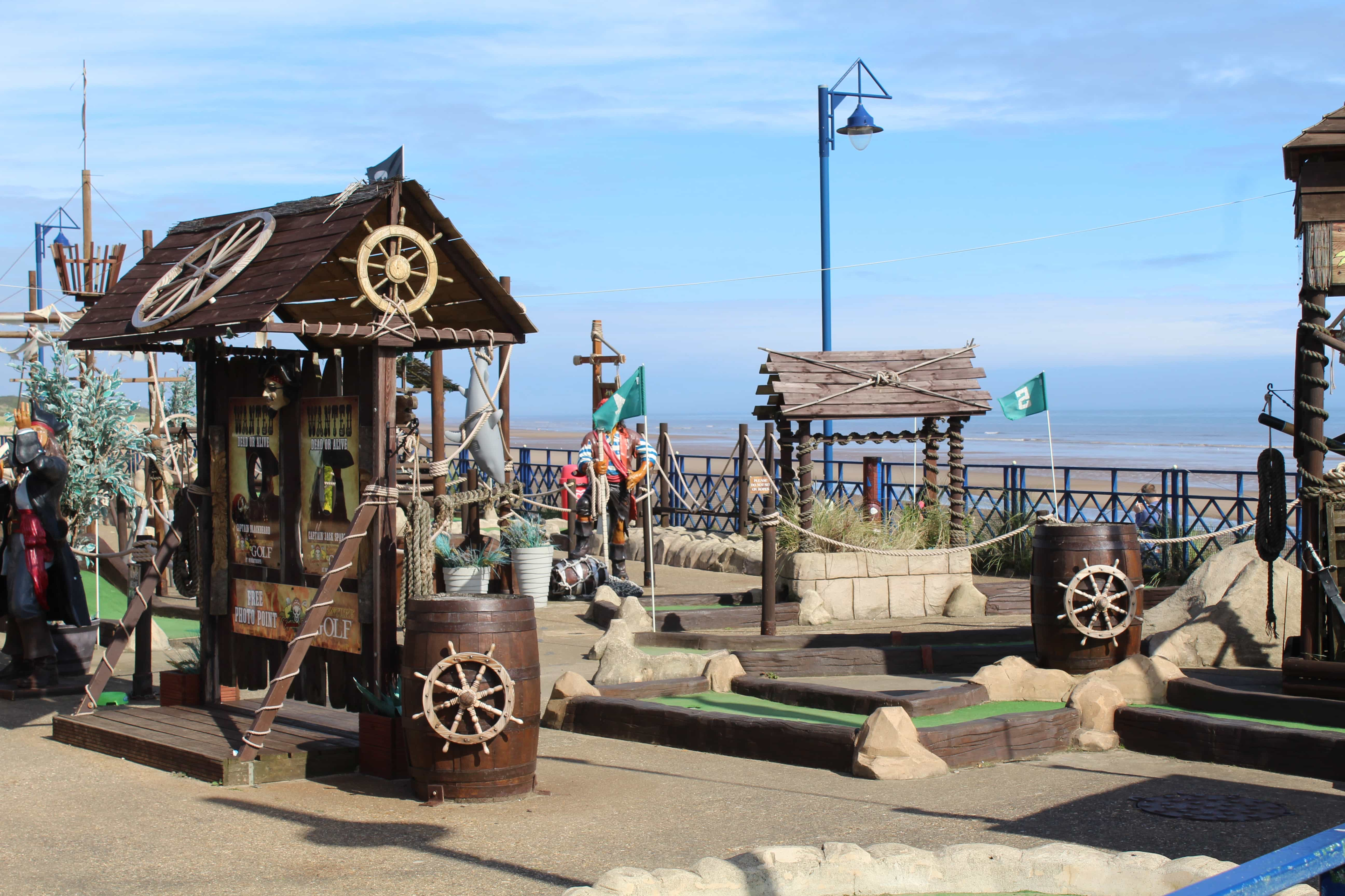 Mablethorpe Pirate Crazy Golf