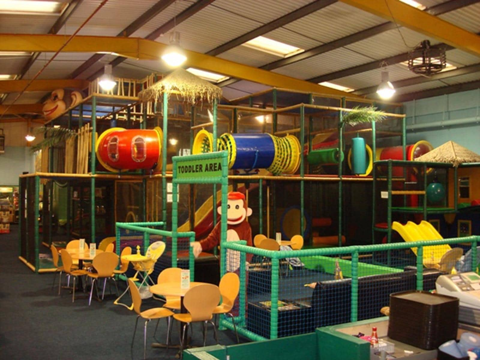Cheeky Chimps Playzone, photo courtesy Cheeky Chimps