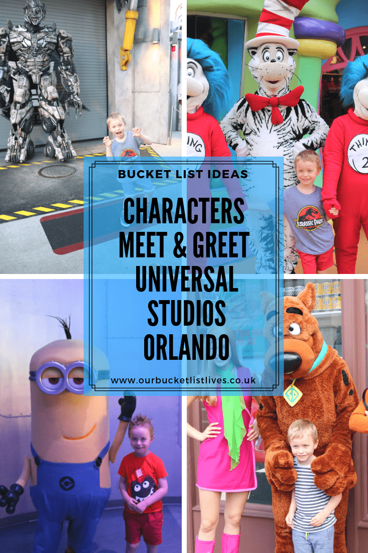 Characters You Can Meet & Greet at Universal Studios Orlando