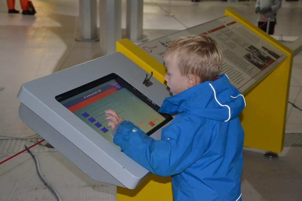 Interactive Displays at Duxford