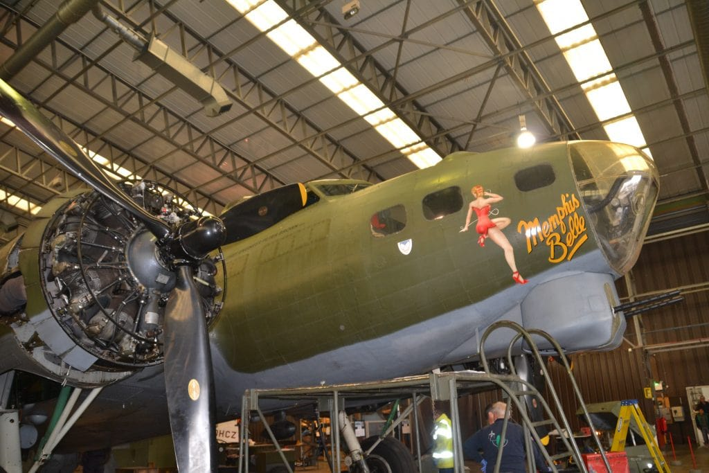 Flying fortress the Memphis Belle