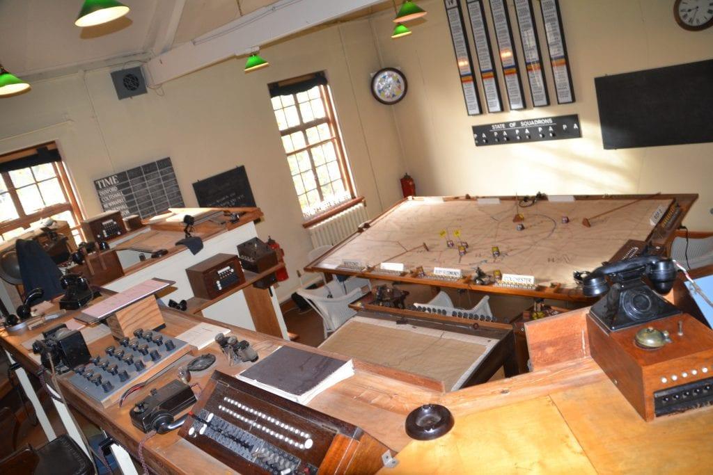 1940's control room