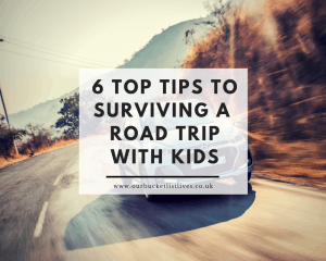 6 Top Tips to Surviving a Long Haul Road Trip with Kids