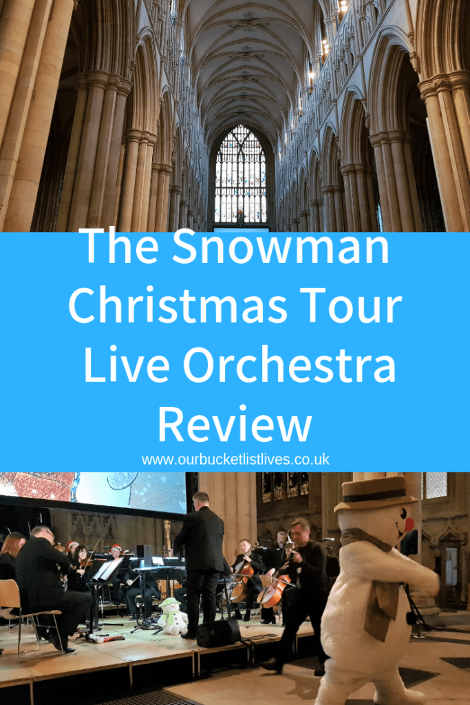 The Snowman Christmas Tour | A Live Orchestra Review | Beverley