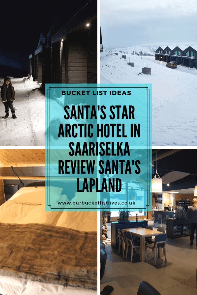Santa's Star Arctic Hotel in Saariselka | Review Santa's Lapland