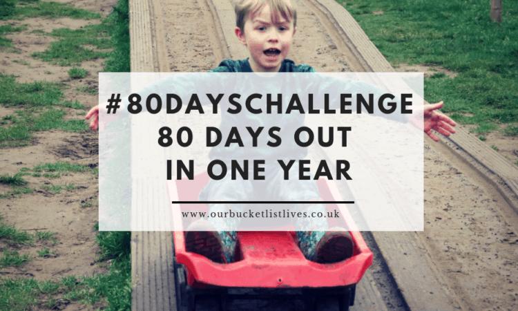 #80dayschallenge 80 days out in one year