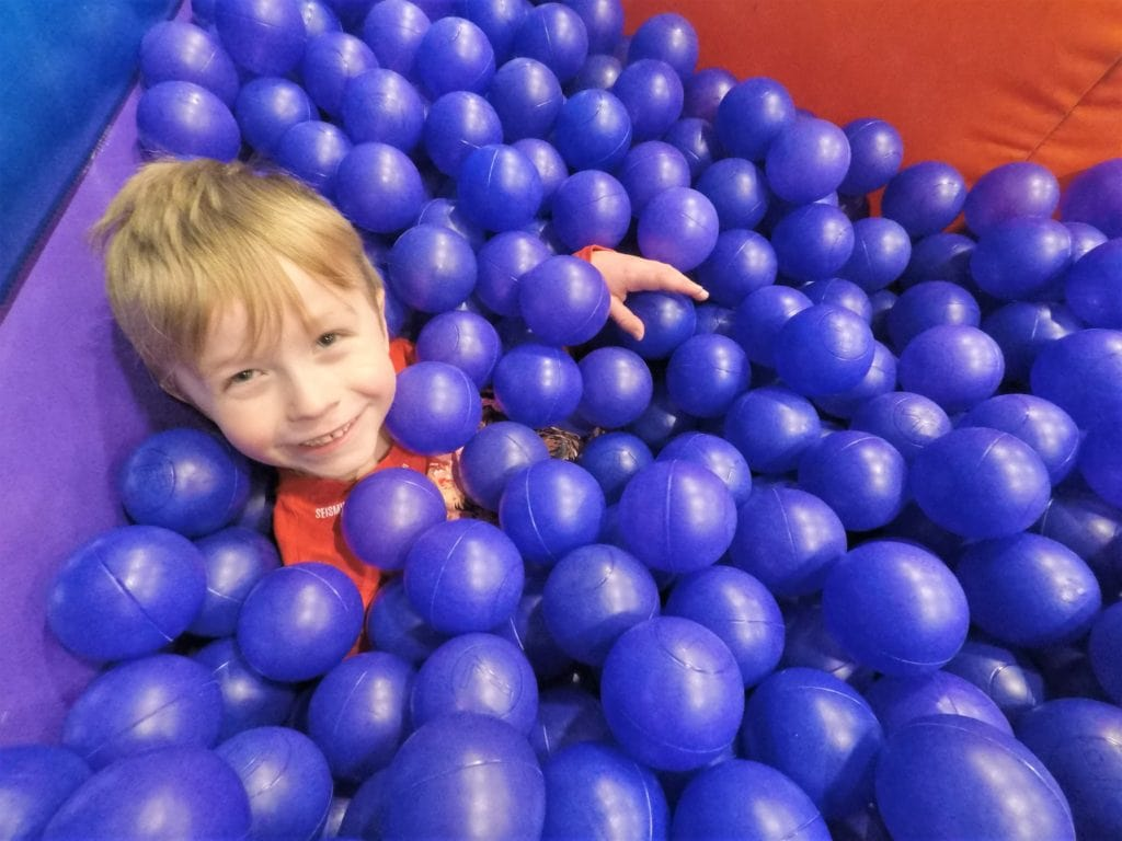 Drowning in the 200,000 stocked ball pit