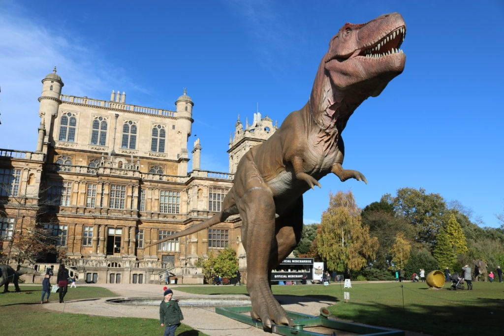 Dinosaurs at Wollaton Hall