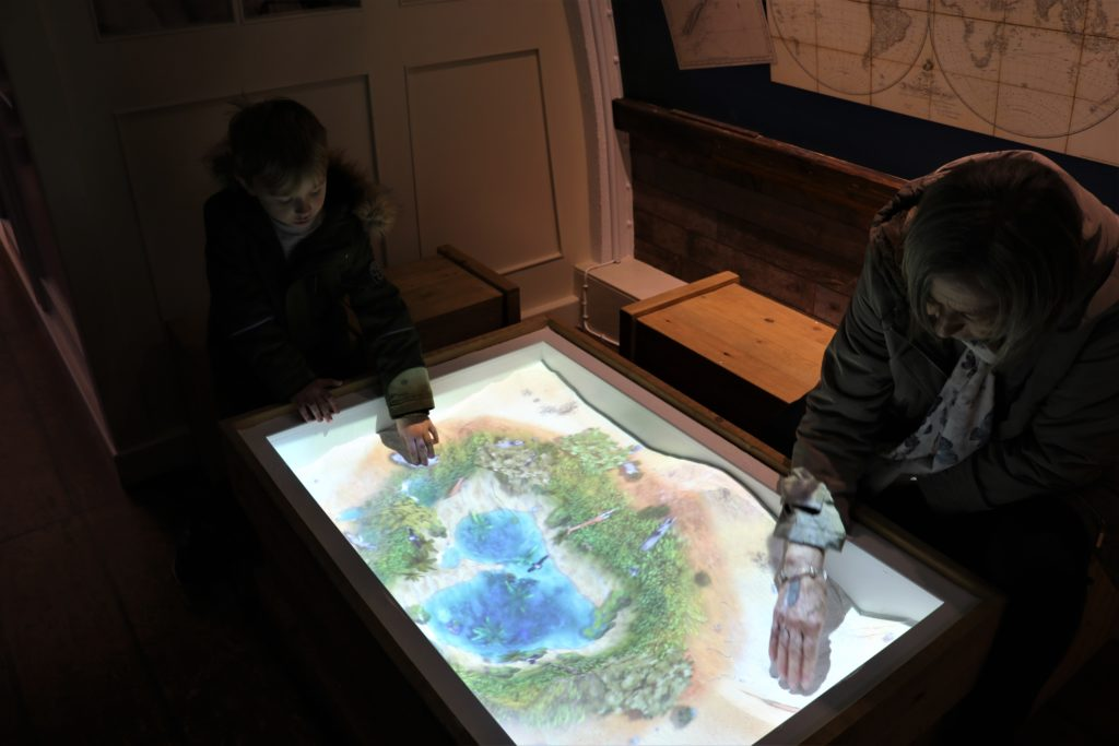 The Interactive sandpit