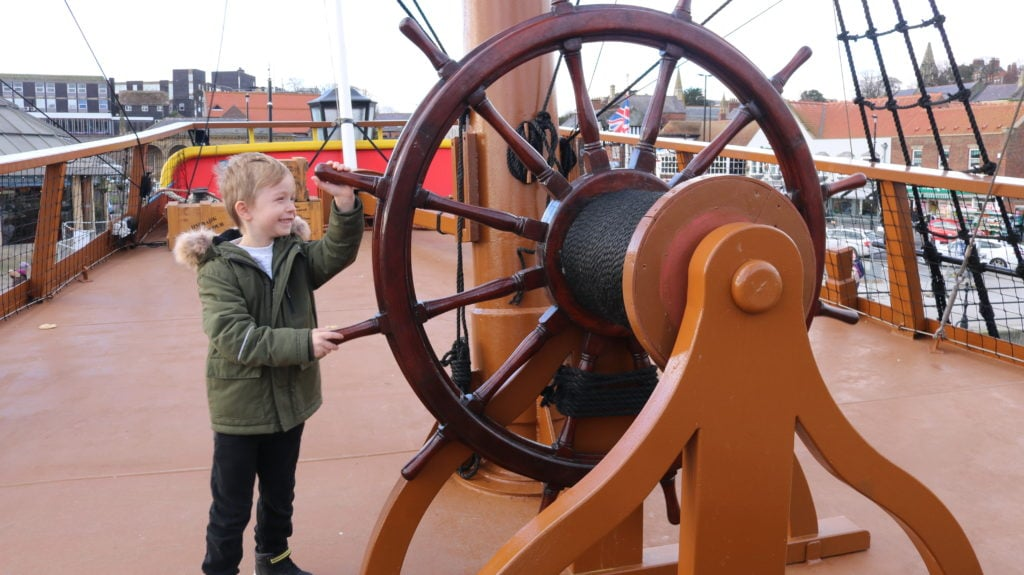 HM Bark Endeavour Whitby Review