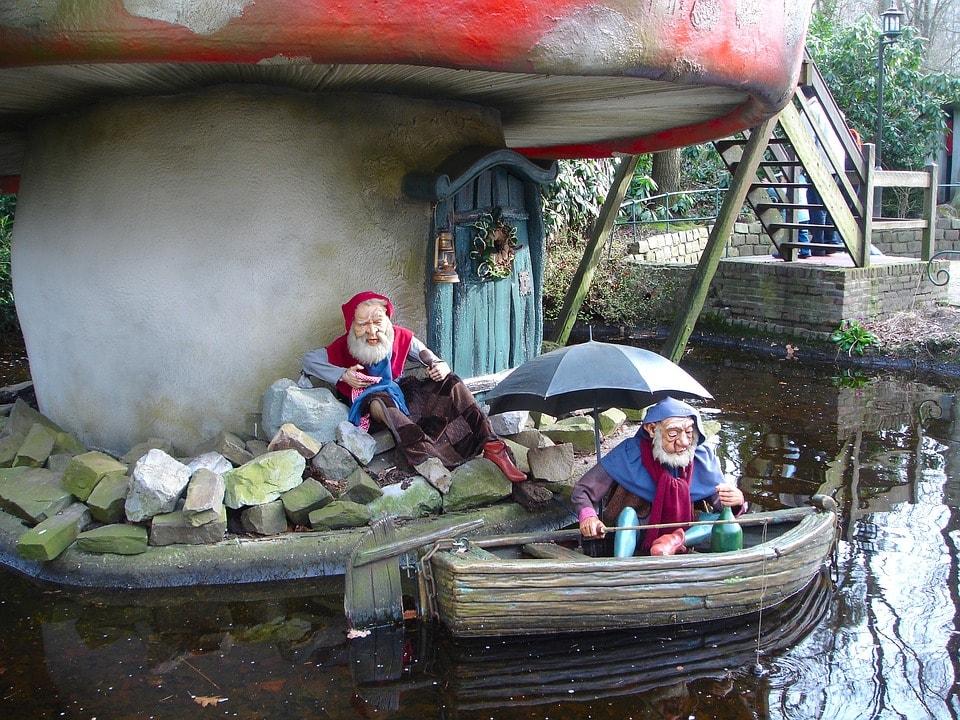 Efteling theme park, Netherlands
