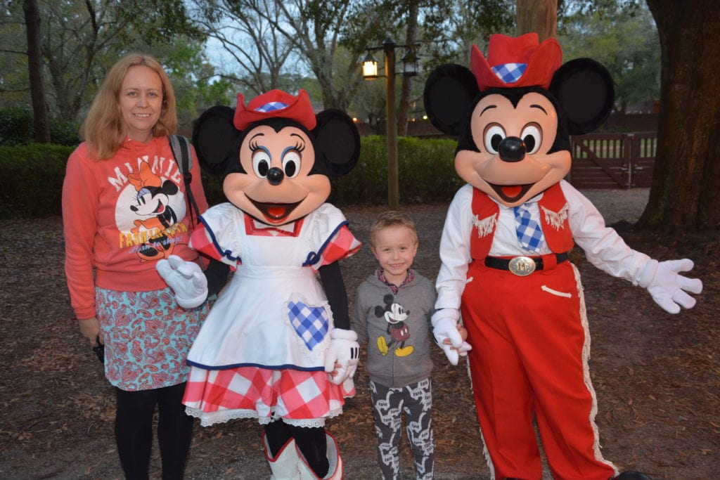Mickey's Backyard BBQ at Fort Wilderness Campground, Disney World