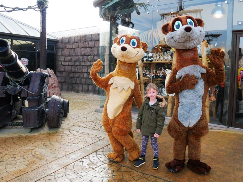 Meerkat characters