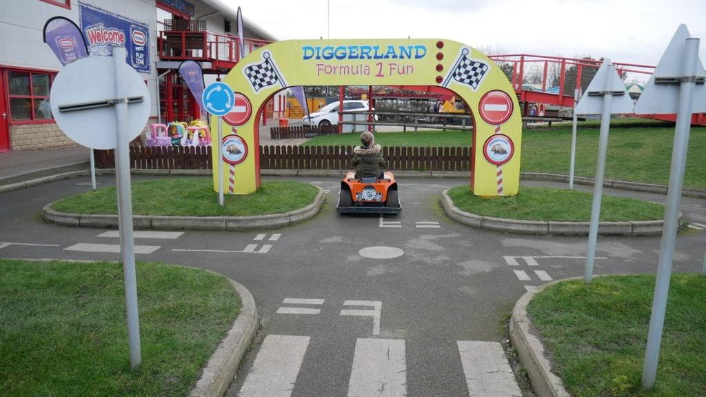 Coin Operated Rides at Diggerland