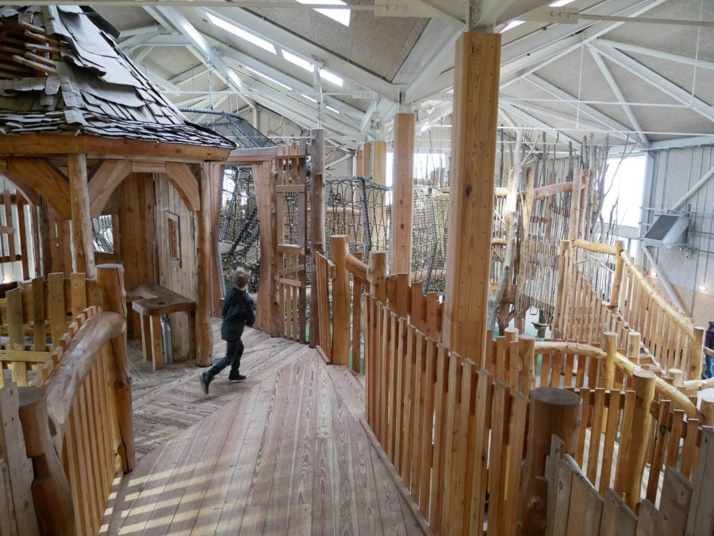 Indoor adventure play at William's Den