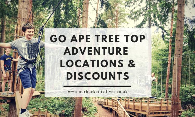 Go Ape Tree Top Adventure | Locations & Discount