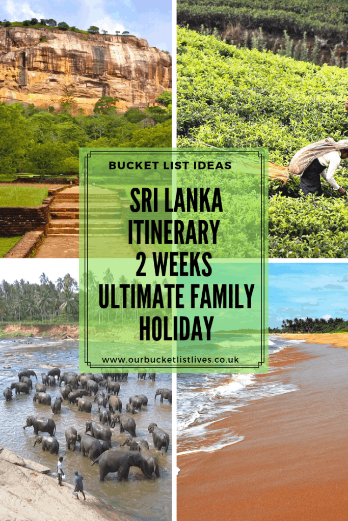 Sri Lanka Itinerary 2 Weeks | Ultimate Family Holiday