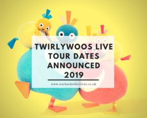 Twirlywoos LIVE Tour Dates Announced 2019