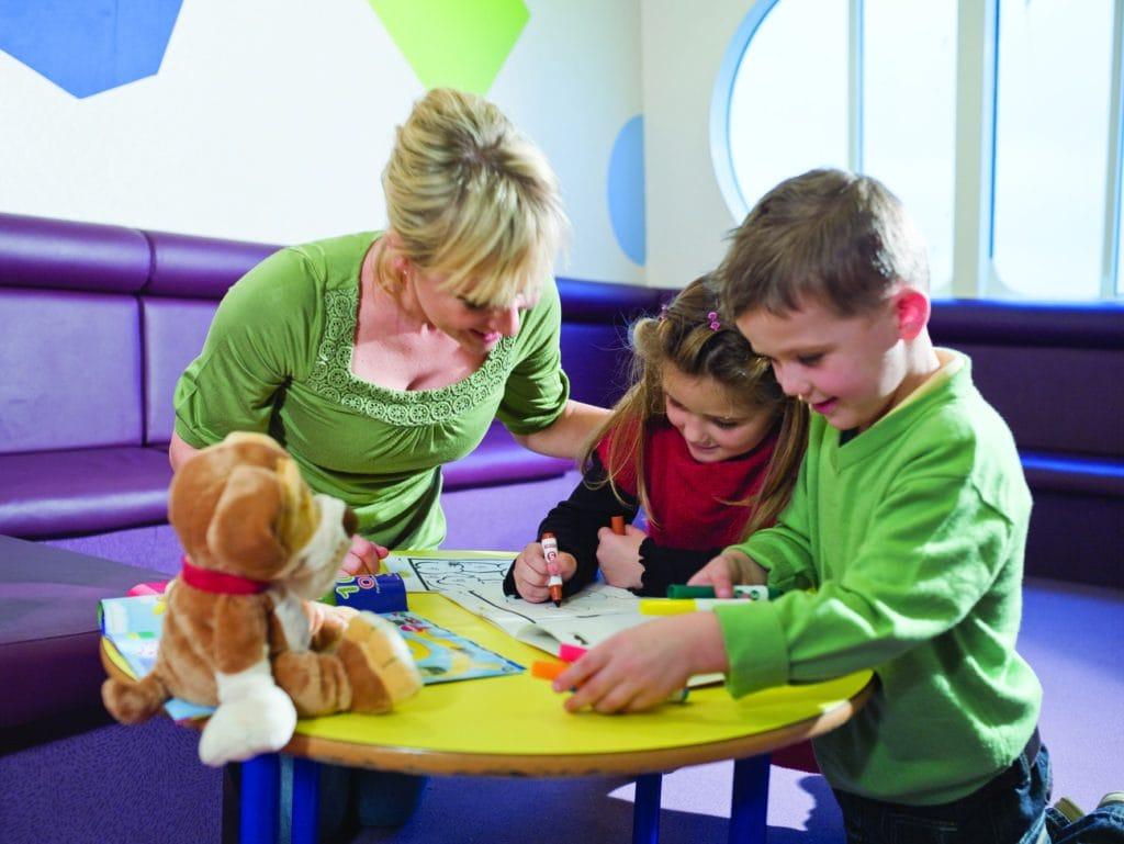 Condor Ferries - Kids play area