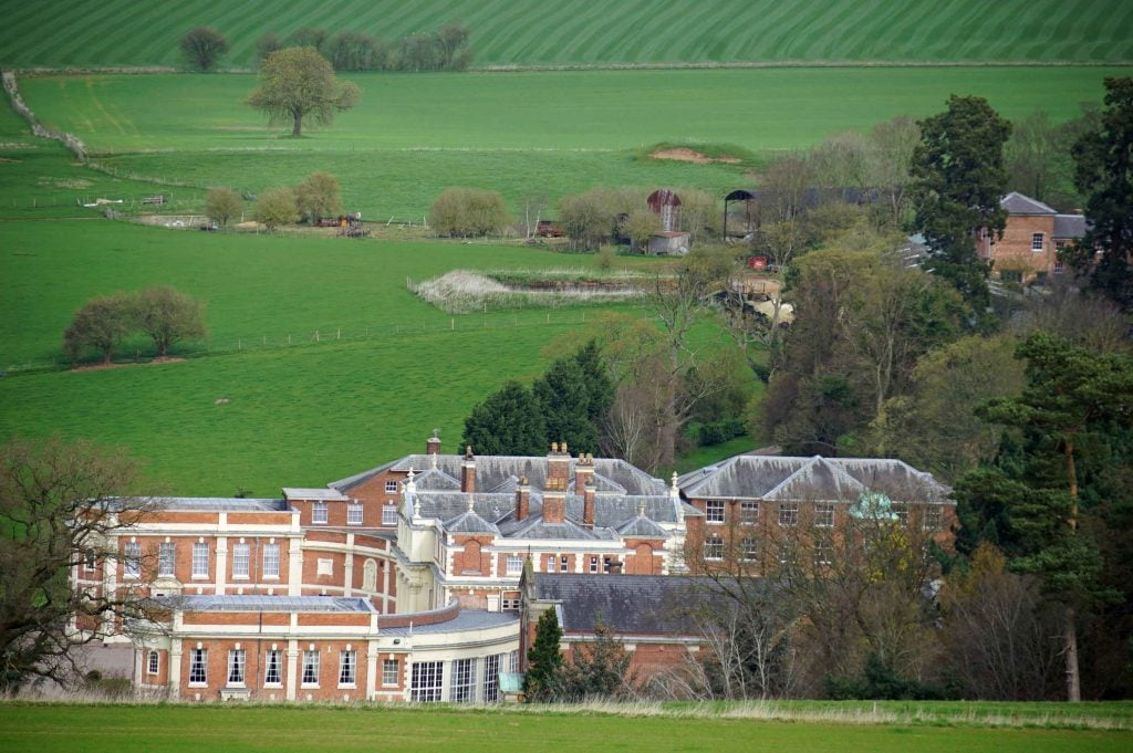 Hawkstone Hall view from the Monument