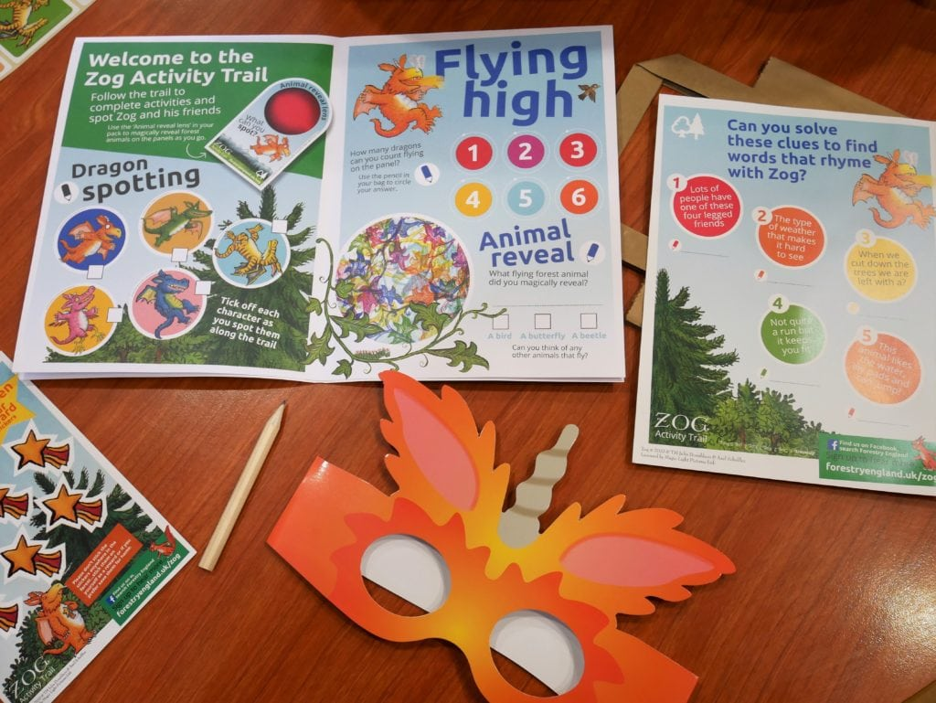 Zog Activity Pack