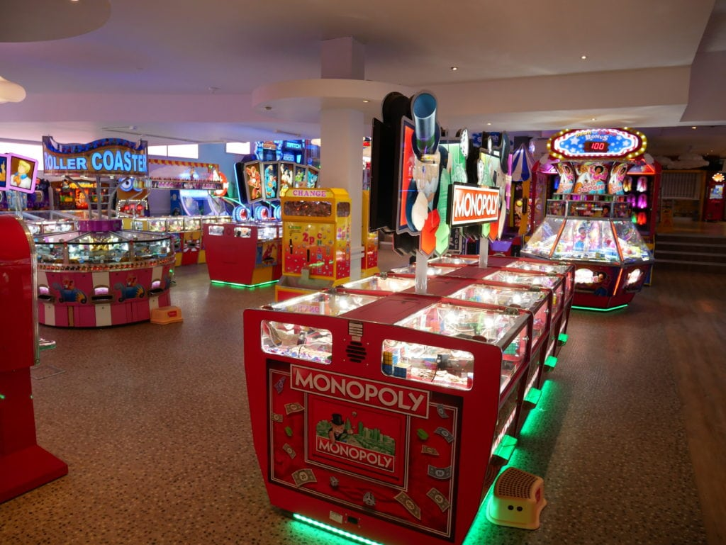arcades at primrose valley