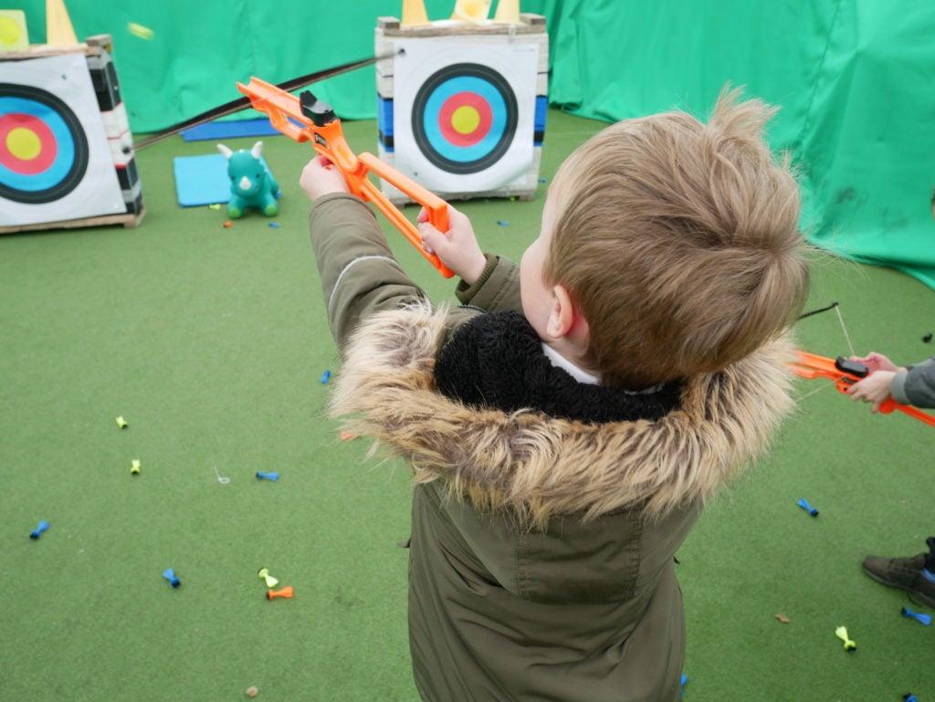 Mini archery session