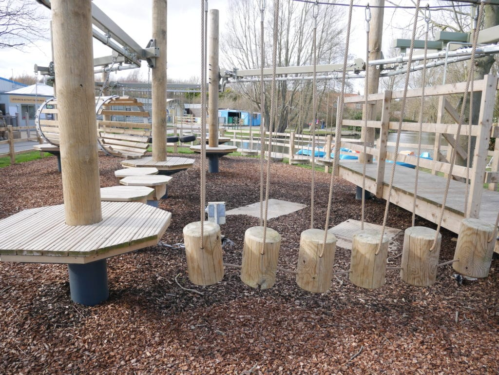 Mini Adventure course for younger children