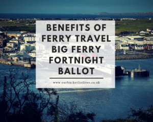 The Benefits of Ferry Travel