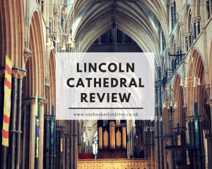 Lincoln Cathedral - Trying an Explorer Backpack - Review