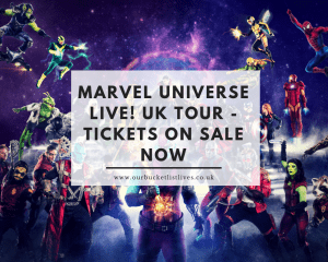 Marvel Universe LIVE! UK Tour - Tickets on sale NOW