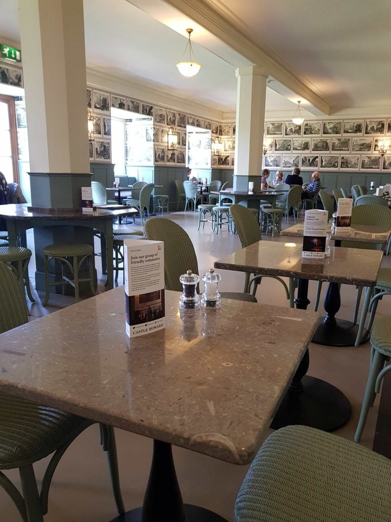Inside the Fitzroy room cafe