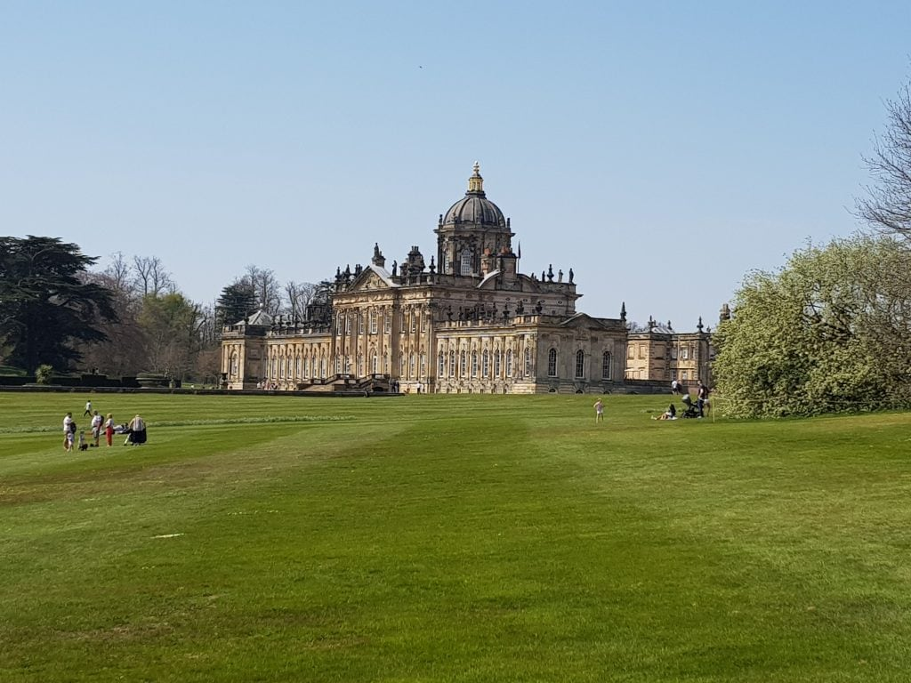 The very large house at Castle Howard