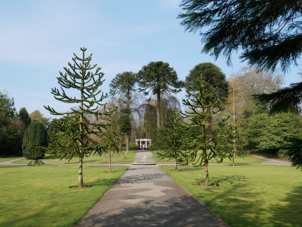 The grounds at Sewerby Hall